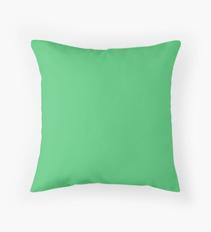 Paris Green  Throw Pillow
