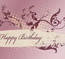 Birthday Card 2 by Tanja Udelhofen