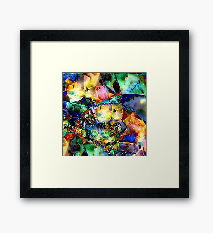 Jewels Framed Print