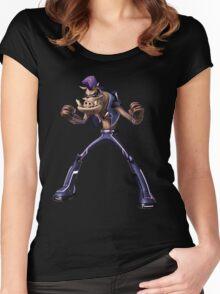 bebop rocksteady Women's Fitted Scoop T-Shirt