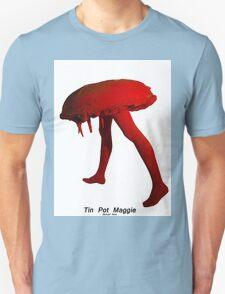 Tin Pot Maggie Red series Sculpture, T-Shirt