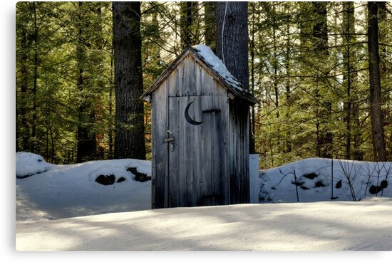 Cold Toilet Seat~~You Betcha! by Monica M. Scanlan