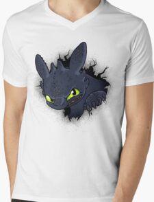 Night Fury Mens V-Neck T-Shirt