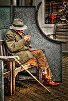 Pipe smoker by Simon Duckworth