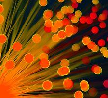 Fibre Optic Lamp by Rees Adams