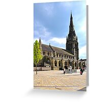 St Mary's Church, Lichfield Greeting Card