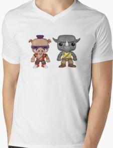 Bebop Rocksteady KIDS Mens V-Neck T-Shirt