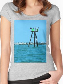 Pelican Party Women's Fitted Scoop T-Shirt
