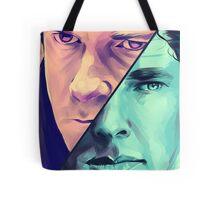 Watson and Holmes Tote Bag