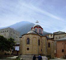 Mount Athos - Megisti Lavra 1 by SvobodaT