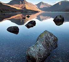Wasdale Head From Wastwater by SteveMG