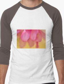 Crabapple Blossom Bokeh Men's Baseball ¾ T-Shirt
