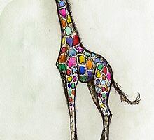 Feeling a little colourful by Elle J Wilson