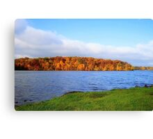Lake Decatur, Decatur IL Canvas Print