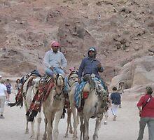 Ride to Petra. by Alvira E.