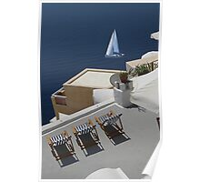Sea view. Poster