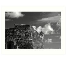 Old San Juan Fort Art Print