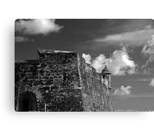 Old San Juan Fort Canvas Print