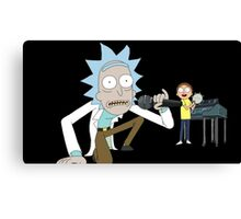 Musical Rick and Morty Canvas Print