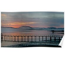 Tomales Bay, California Sunrise Poster