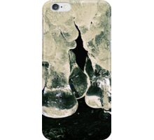 Icicles on the River iPhone Case/Skin