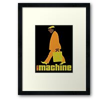 sexmachine - orange & lime - style no.1 Framed Print