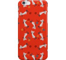The Smoking Cats - Version 1:4 iPhone Case/Skin