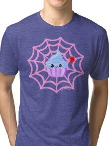 Sugarspider Cupcake Tri-blend T-Shirt