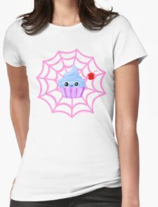 Sugarspider Cupcake Womens Fitted T-Shirt