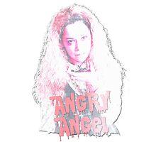 Angry Angel Helena Photographic Print