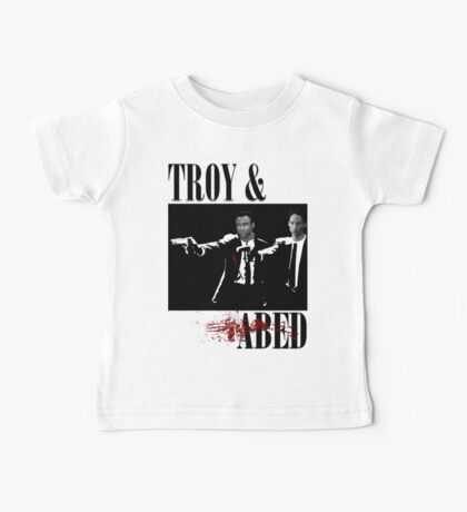 Troy & Abed (Pulp Fiction Style) Baby Tee