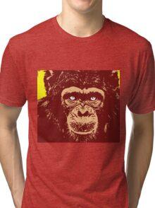CHIMPANZEE-2 Tri-blend T-Shirt