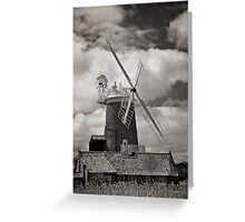 Cley Windmill Greeting Card