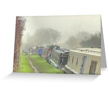 Blisworth - Grand Union Canal Greeting Card