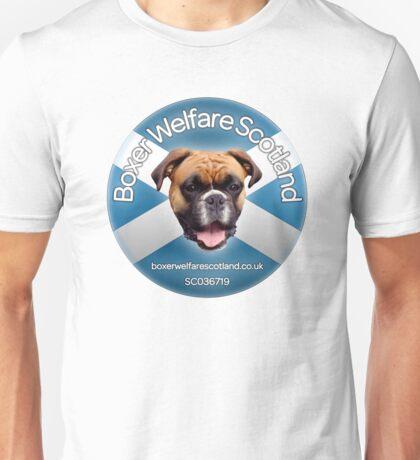 Boxer Welfare Scotland Tshirt Unisex T-Shirt