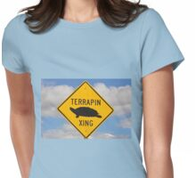 Terrapin Crossing Womens Fitted T-Shirt