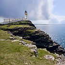 Neist Point Lighthouse by Claire Tennant