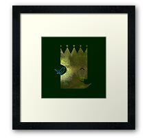 The Emperor and the Nightingale Framed Print