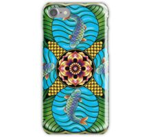 Japanese Carp Mandala iPhone Case/Skin