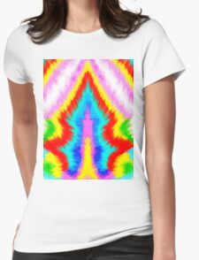 Painting Ikat Background Womens Fitted T-Shirt