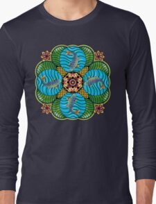 Japanese Carp Mandala Long Sleeve T-Shirt
