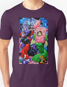 Harley Quinn Pillow Fight T-Shirt
