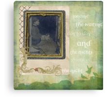 longing Canvas Print
