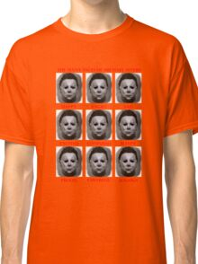 The Many Faces Of Michael Myers (Halloween) Classic T-Shirt