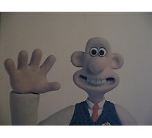 More cheese Gromit Photographic Print