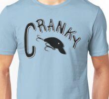 Cranky - Fishing t-shirt Unisex T-Shirt
