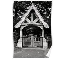 Historical Church main gate Poster