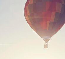 hot air balloon sunrise by STUDIOCLAIRE