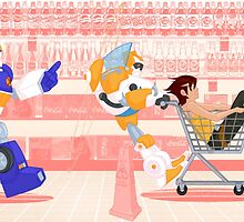 Grocery Shopping by 88bullets