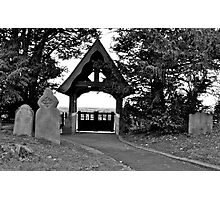 Exit from the church Photographic Print